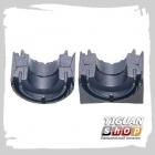 Подушка переднего стабилизатора Тигуан Febest, VWSB-B7F, аналог 3C0411303AA