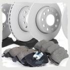 Комплект оригинальных передних и задних колодок и дисков на Тигуан