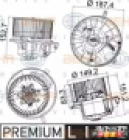 Вентилятор отопителя Volkswagen Tiguan 8EW351043221 BEHR HELLA