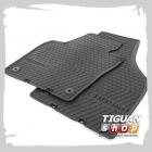 Салонные коврики передние резиновые для Фольксваген Тигуан 5N106150282V