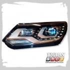 Фара светодиодная левая Тигуан 5N1941753