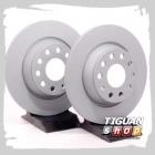 Диск тормозной задний Тигуан 1K0615601AD