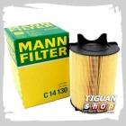Фильтр воздушный Mann C14130, аналог 1F0129620