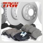 Комплект передних и задних колодок и дисков TRW для Тигуан