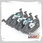 Передние тормозные колодки Тигуан JZW698151S (VAG Economy)