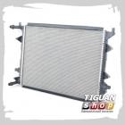 Радиатор охлаждения двигателя Valeo, аналог 1K0121251EC